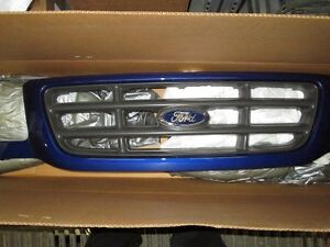 OEM grille for 02-03 Ford Ranger in Sonic Blue