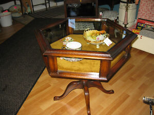 Display Side Table -- FROM PAST TIMES Antiques  - 1178 Albert St