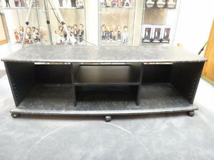 Large and sturdy Audio Video Stand with castors.