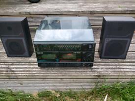 Retro 1980s Fidelity hifi system