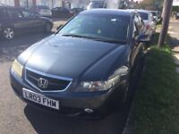 Honda Accord 4 Door Saloon