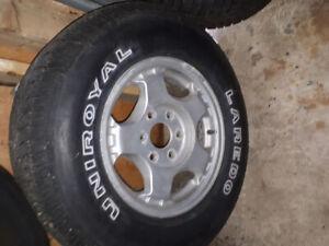 Chev. Silverado Aluminium Rim 6 bolt