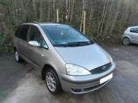 2003 '03' FORD GALAXY 1.9 TDI ZETEC 5 DOOR 7 SEATER IN MET GOLD 132,000 MILES