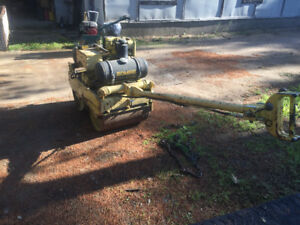 Bomag bw60s double vibratory roller