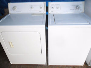 $180. for the SET washer and dryer match set..Super capacity.