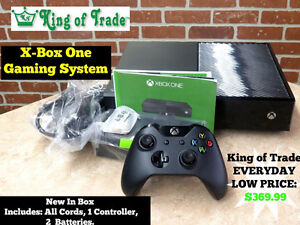 1 TB XBOX ONE System (Complete) - King of Trade!
