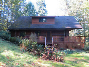 2150sqft Morgan Log home on wooded 5.81 acres