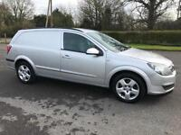 VAUXHALL ASTRA VAN SPORTIVE 1.9 CDTI 6 SPEED AIR CONDITIONING IN SILVER
