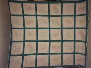 HAND MADE QUEEN SIZE QUILT