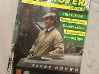 Land Rover Owner Magazines