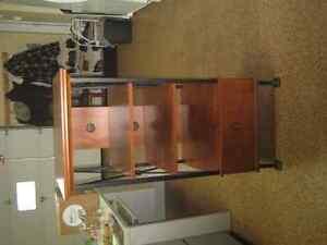 4 SHELF TV STAND