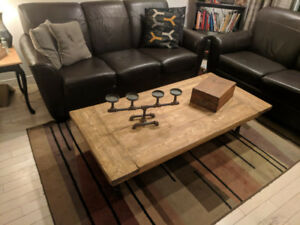 Rustic/ Industrial  Style Coffee Table