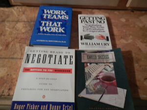 Business + job self help books