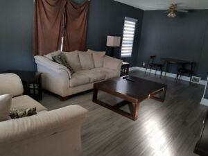 For rent OR sale Fully furnished 2 bedroom home (moose jaw)