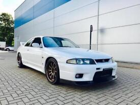 1996 Nissan Skyline R33 2.6 GTR Spec 2 + WHITE + HUGE SPEC