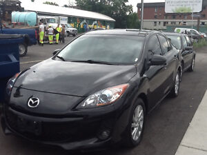 2012 Mazda 3, Skyactiv, leather