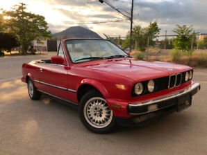 1987 BMW 325i Convertible REDUCED