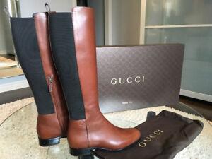 Bottes femmes Gucci Women Boots Designer 7.5