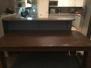 Brand new wood table