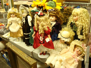 Collectible Dolls Galore $5--$45