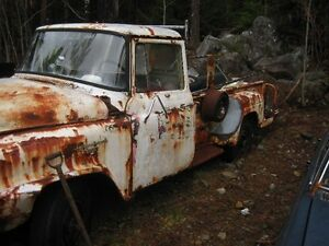 1958 ihc for parts or repair