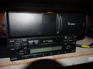 VW Jetta stereo with a 6 cd changer