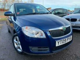 2009 Skoda Fabia 1.4 16V 2 5dr HATCHBACK Petrol Manual