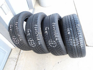 SET of FOUR - P205/55R16 GENERAL EVERTREX RTX A/S - LIKE NEW