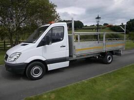 MERCEDES SPRINTER 313 CDI 13FT 6IN DROPSIDE PICKUP 13 REG 70,900 MILES
