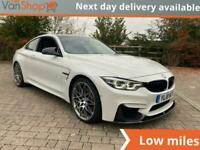2018 BMW M4 3.0 BiTurbo (Competition Pack) DCT (s/s) 2dr Auto Coupe Petrol Autom