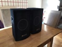 Skytec PA DJ speakers (100W)