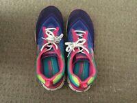 Skechers size 7 memory foam shoes