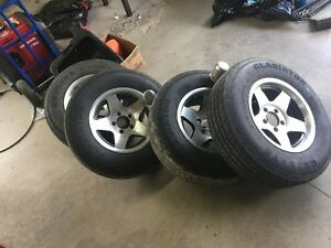Trailer Rims With Tires And Axles