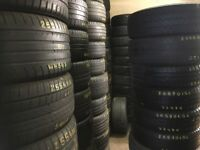 Tyre shop 215/45/16 235/60/16 225/55/17 225/50/17 225/45/17 245/45/17 NEW TYRES USED TIRES FITTED
