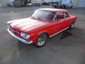 1963 Chev Corvair Monza 900 - Total Restoration