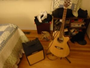 Like New Takamine G Series & Troubanour Amp