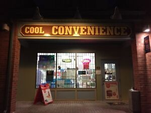 Convenience stores with property