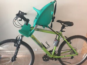 childs seat attachment for bike