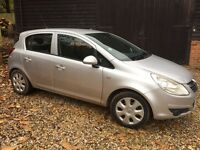 2010 Vauxhall Corsa Exclusive, beautiful condition. Reduced price to sell before Xmas!