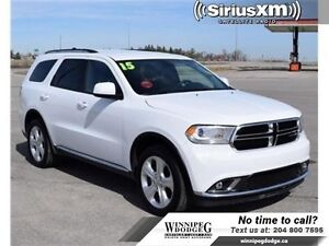 2015 Dodge Durango SXT AWD w/Bluetooth *7 Passenger*