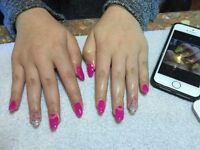 Nail technician looking for clients