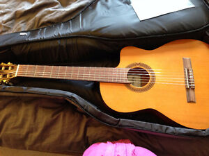 Cordoba C5 Thin Body Classical Guitar with Electric