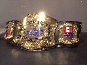 Wanted: WRESTLING REPLICA BELTS WWE WWF WCW ECW TNA UFC