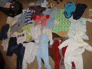 Boys 0-3 Months Clothes - Good Condition, Great deal!