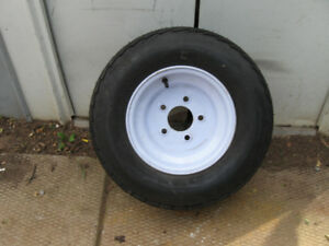 ONE TRAILER TIRE 20.5X8.0-10 BRAND NEW NEVER MOUNTED