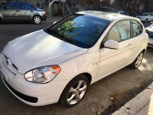 Hyundai Accent 2011, manuel, excellent  état! 119 644 kms