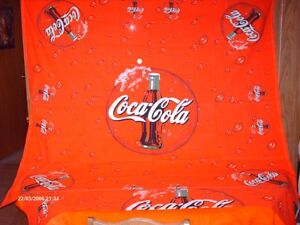 nappe Coca Cola   lot  222
