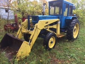 Loader tractor 60 hp 3 pt hitch universal 650