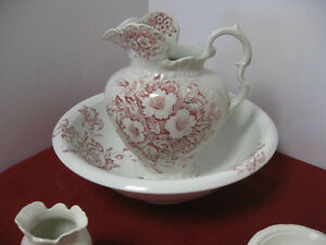 Vintage Pitcher & Basin - FROM PAST TIMES Antiques - 1178 Albert
