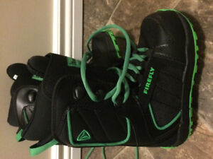 Snowboard boots - Firefly boys size 3